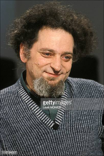 The writer Georges Perec in France in April 1982