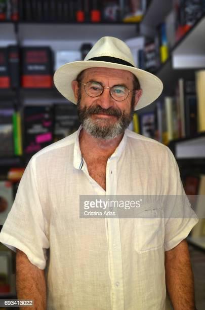 The writer Juan Madrid attends Book Fair 2017 at El Retiro Park on June 3 2017 in Madrid Spain