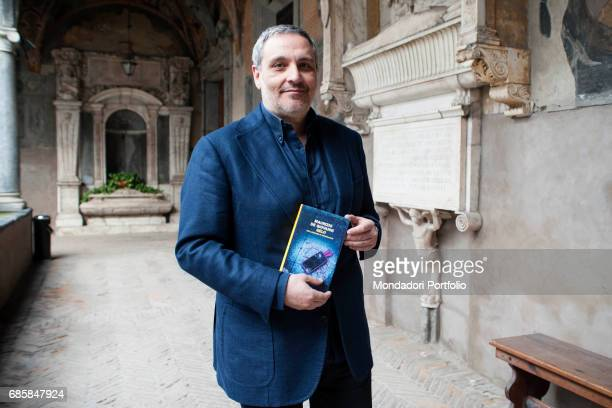 The writer Maurizio De Giovanni presenting his novel Gelo during the meeting Panorama d'Italia Naples Italy 26th March 2015