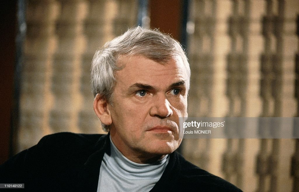 The writer <a gi-track='captionPersonalityLinkClicked' href=/galleries/search?phrase=Milan+Kundera&family=editorial&specificpeople=724896 ng-click='$event.stopPropagation()'>Milan Kundera</a> in France in June, 1981.