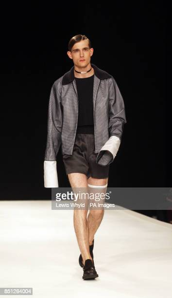 The Xander Zhou show at the London Collections MEN SS14 in London PRESS ASSOCIATION Photo Picture date Monday June 17 2013 Photo credit should read...