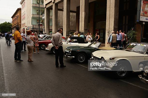 The XXIII edition of the Reenactment of the Vincenzo Florio Cup At 1230 the cars will move to reach the street Resuttana area along the roads Cavour...