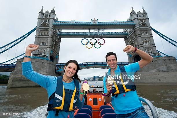 The Xxxth Summer Olympic Games In London 2012 French Medals Jeux Olympiques d'été de Londres 2012 séance photo avec les médaillés français Londres...