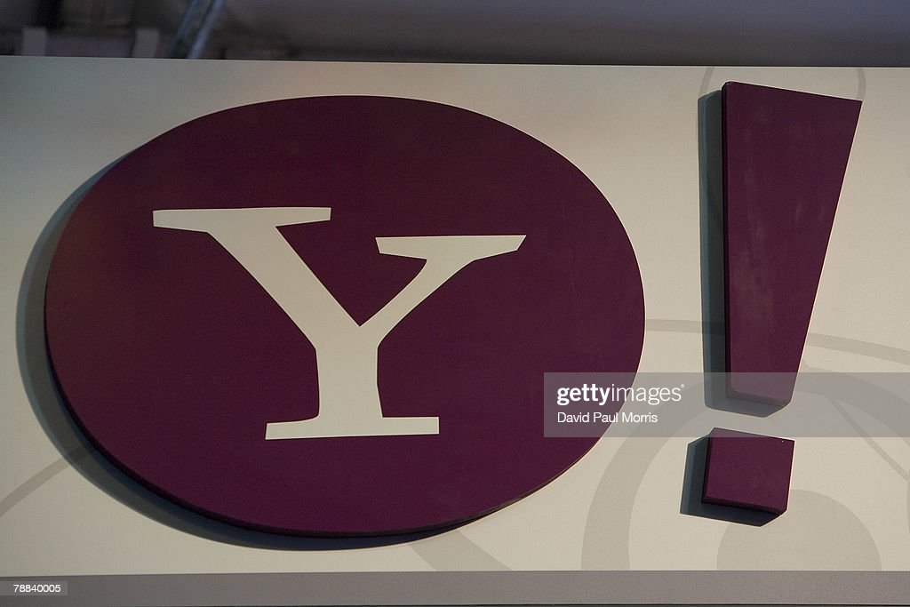 The Yahoo! Logo is seen at the 2008 International Consumer Electronics Show at the Las Vegas Convention Center January 8, 2008 in Las Vegas, Nevada. CES, the world's largest annual consumer technology tradeshow, runs through January 10 and features 2,700 exhibitors showing off their latest products and services to more than 140,000 attendees.