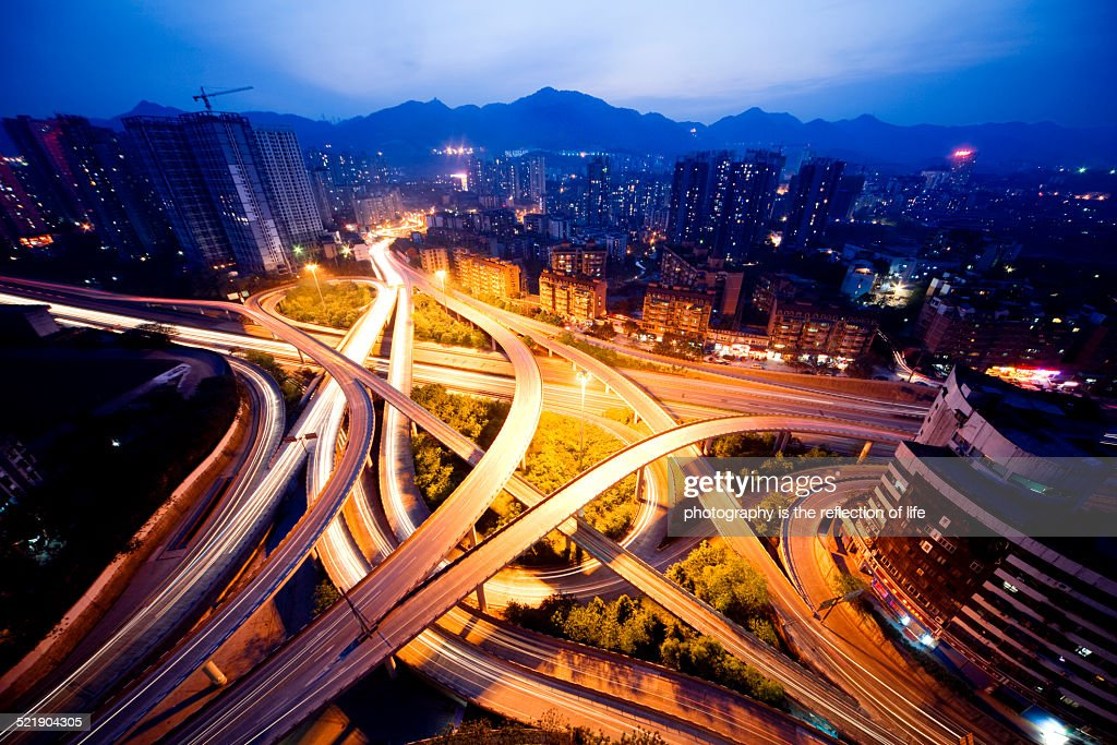 The Yanggongqiao Interchange