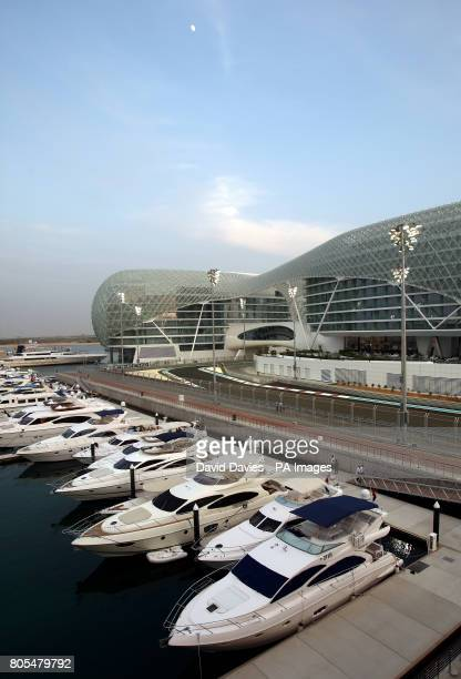 The Yas Hotel in Yas Island Marina Abu Dhabi United Arab Emirates