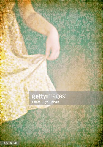 The Yellow Dress : Stock-Foto