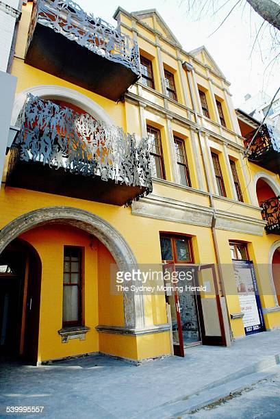 The Yellow House Macleay Street Potts Point once home to a collective of Sydney artists including Martin Sharp Brett Whiteley Peter Powditch and...