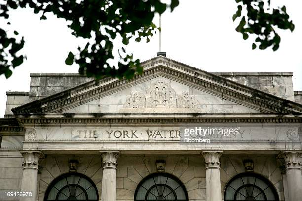 The York Water Co headquarters stands in York Pennsylvania US on Thursday May 23 2013 BAE Systems Plc which has a manufacturing facility in York is...