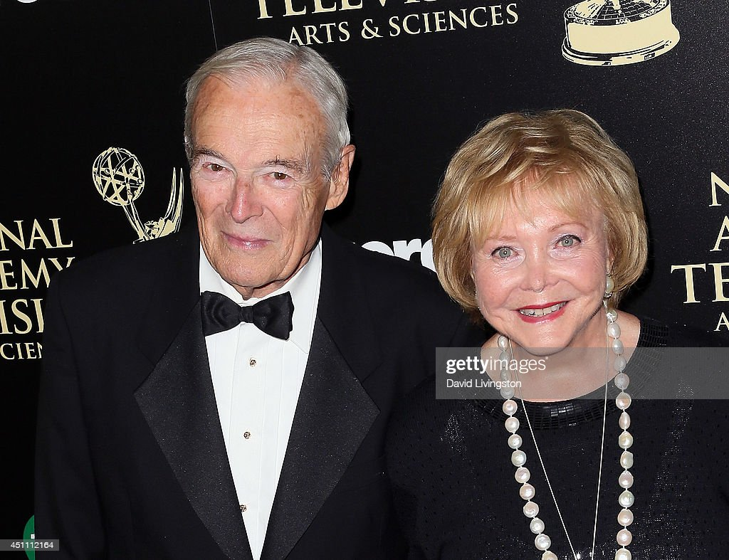 The Young and the Restless co-creator Lee Phillip Bell (R) and guest attend the 41st Annual Daytime Emmy Awards at The Beverly Hilton Hotel on June 22, 2014 in Beverly Hills, California.