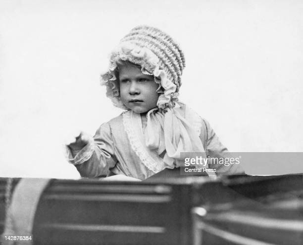 The young Princess Elizabeth later to reign as Queen Elizabeth II 1928