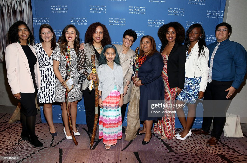 The Young Women's Initiative attends The New York Women's Foundation's 2016 celebration womens breakfast on May 5, 2016 in New York City.