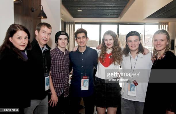 The youth jury attends the 2017 Aspen Shortsfest Awards Dinner on April 9 2017 at Aspen Kitchen in Aspen Colorado