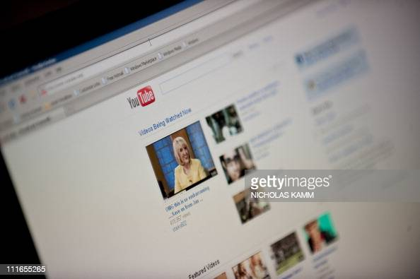 The YouTube homepage appears on a screen in Washington on September 3 2010 Googleowned videosharing website YouTube is expected to turn a profit this...