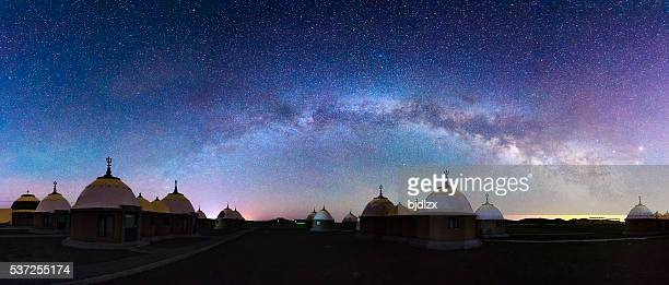 The Yurt under the milky way arch
