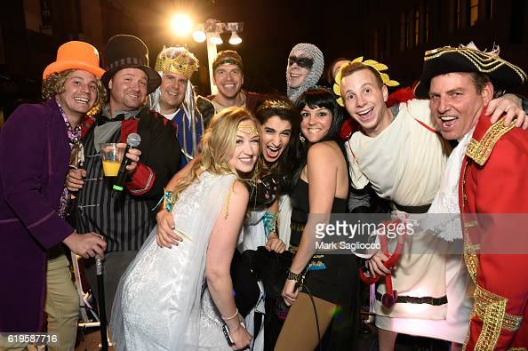 The Z100 Cast and crew attend the 43rd Annual Village Halloween Parade ...