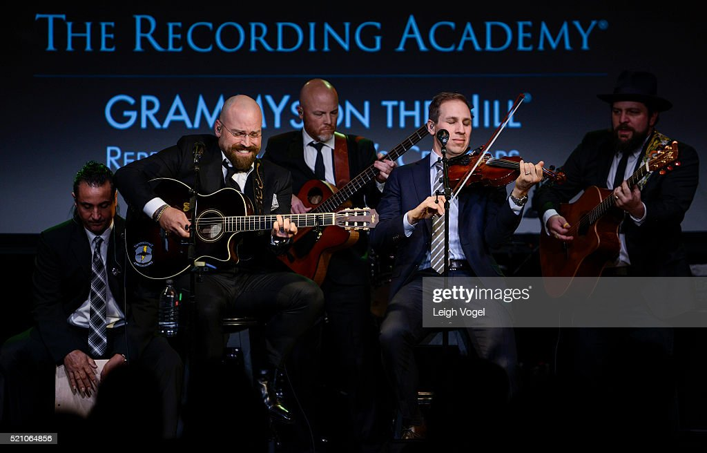 The <a gi-track='captionPersonalityLinkClicked' href=/galleries/search?phrase=Zac+Brown+Band&family=editorial&specificpeople=5796430 ng-click='$event.stopPropagation()'>Zac Brown Band</a> performs during the GRAMMYs on the Hill Awards at The Hamilton on April 13, 2016 in Washington, DC.