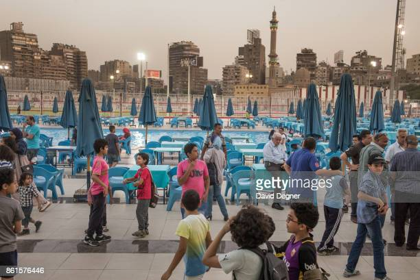 The Zamalek club is probably best known for their football team but it is also a working club for the middle and upper class of Giza to relax on May...