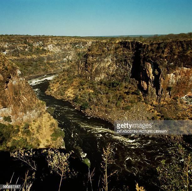 The Zambezi river Southern Province Zambia