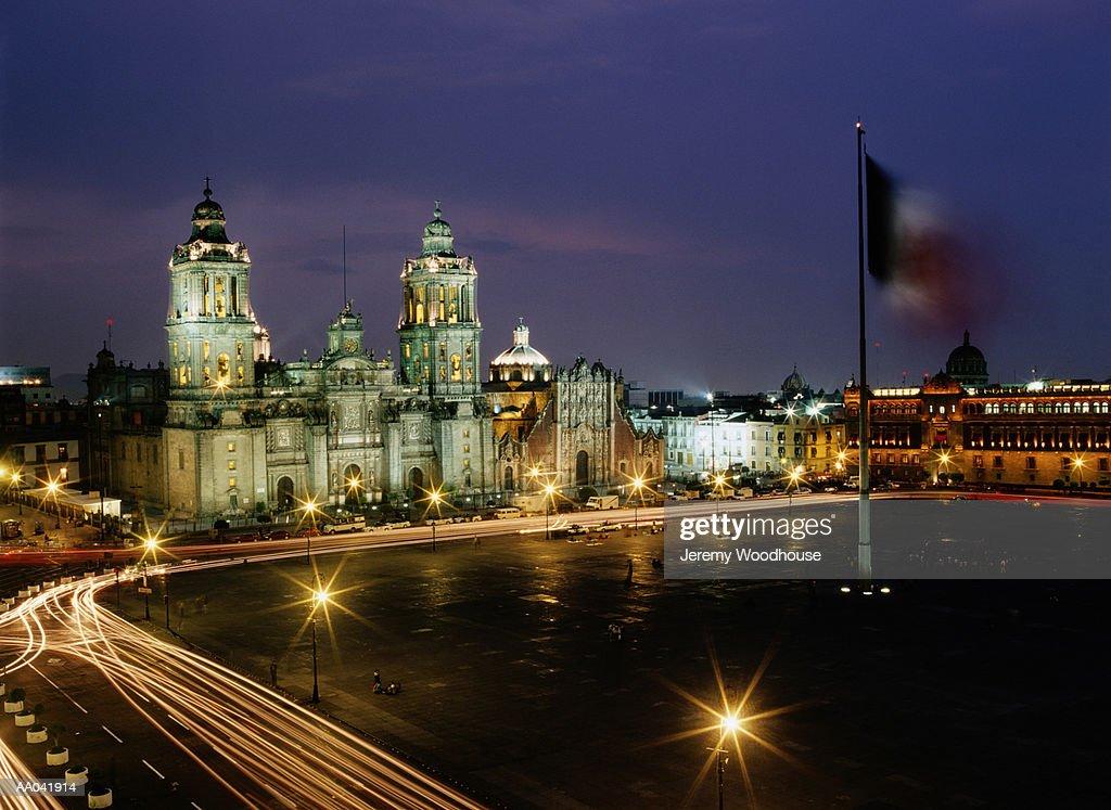 The Zocalo, Mexico City, Mexico : Stock Photo