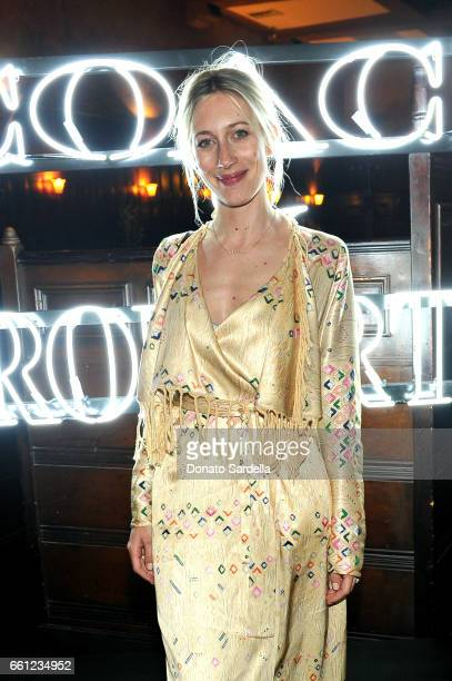 The Zoe Report Editorial Director Nicky Deam attends the Coach Rodarte celebration for their Spring 2017 Collaboration at Musso Frank on March 30...