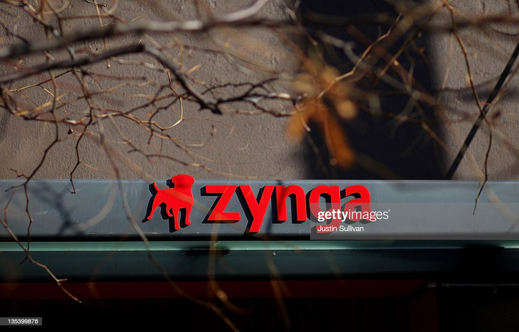 The Zynga logo is displayed on the front of the company's former headquarters on December 9, 2011 in San Francisco, California. San Francisco based social games company Zynga is preparing for its initial public offering and hopes to raise as much as $1.15 billion.