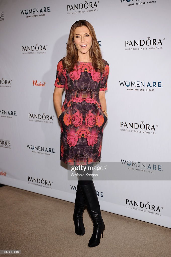 Thea Andrews attends WOMEN A.R.E Inaugural Summit Presented By PANDORA at SLS Hotel on November 7, 2013 in Beverly Hills, California.