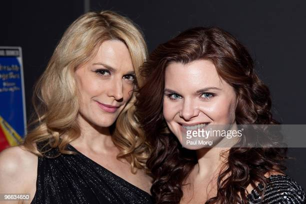 Thea Gill and Heather Tom attend a screening of 'The Putt Putt Syndrome' at Tribeca Cinemas on February 12 2010 in New York City