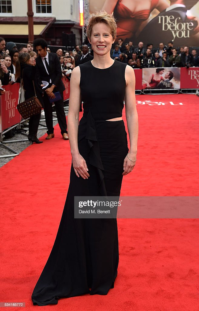 Thea Sharrock attends the European Premiere of 'Me Before You' at The Curzon Mayfair on May 25, 2016 in London, England.