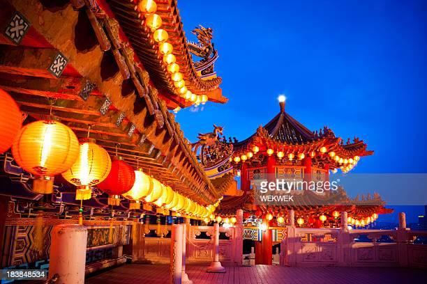 Templo de Thean Hou en Kuala Lumpur, Malasia