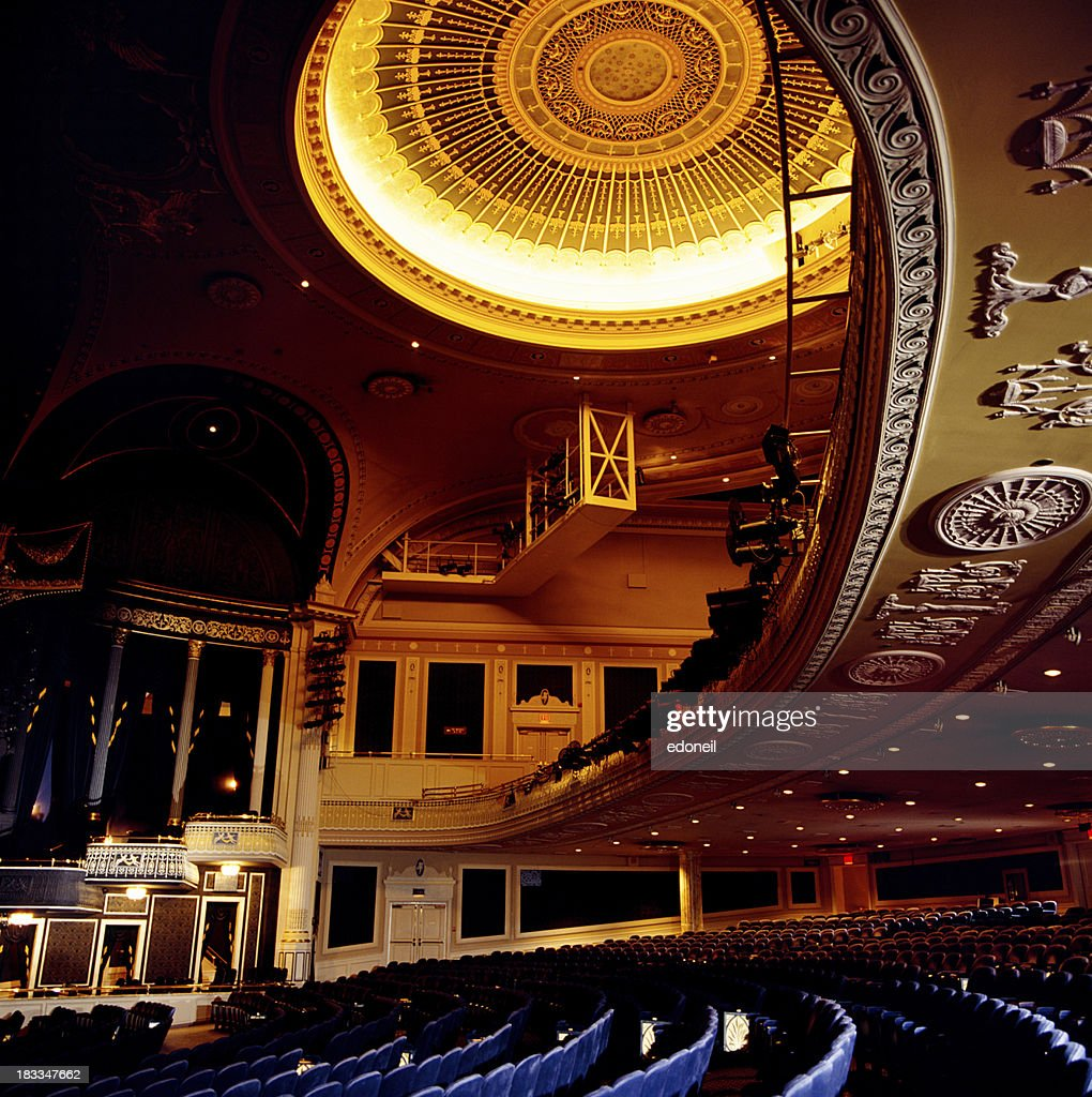 Theater balcony and seating