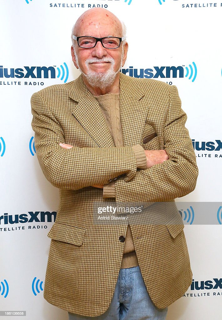 Theater director and producer Hal Prince visits the SiriusXM Studios on October 28, 2013 in New York City.