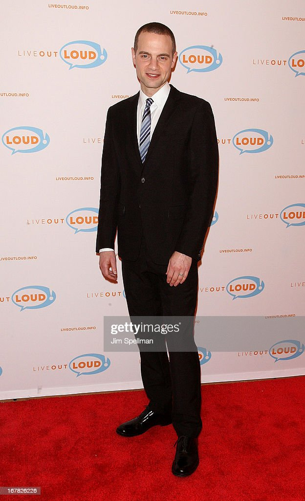 Theater Producer Jordan Roth attends the 12th Annual Live Out Loud Gala at TheTimesCenter on April 30, 2013 in New York City.