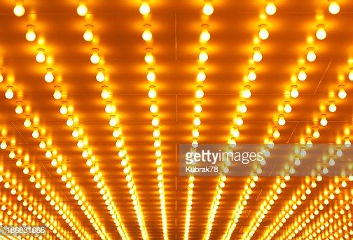 Theater sign neon lights background
