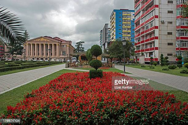 Theater square in Batumi, Georgia