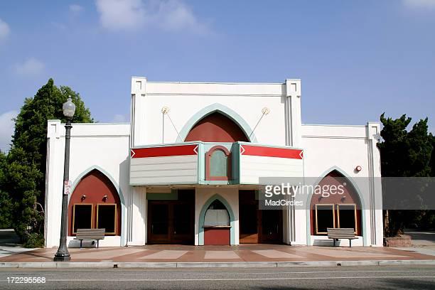 劇場、ブランクマーキーます。