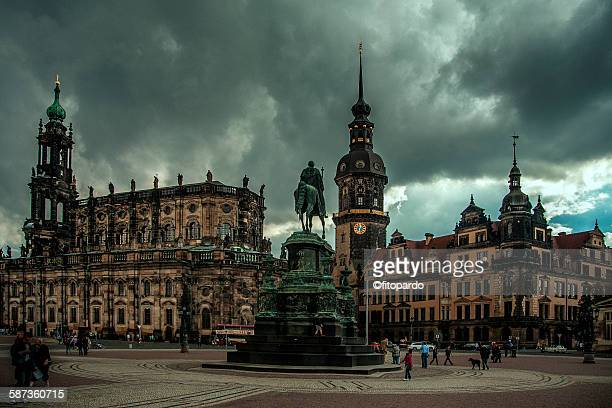 Theaterplatz and Dresden Cathedral