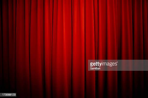 Theatre Curtains Background