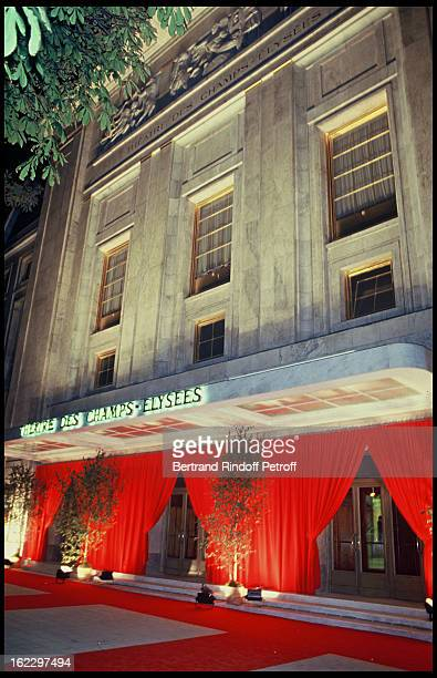 Theatre des Champs Elysées entry for Barbara Hendricks gala party 1987