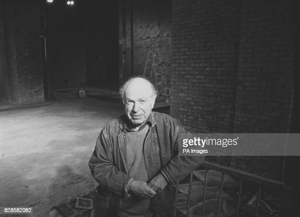 Theatre director Peter Brook in Glasgow before the opening of his ninehour epic production The Mahabharata The work based on the world's longest poem...