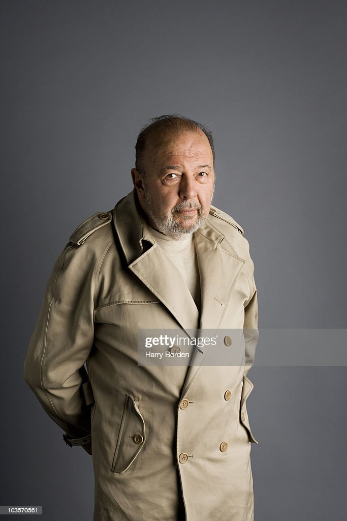 Theatre director Peter Hall poses for a portrait shoot in London on September 10, 2009.