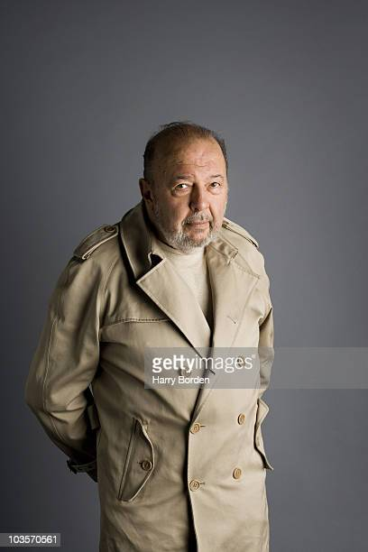 Theatre director Peter Hall poses for a portrait shoot in London on September 10 2009