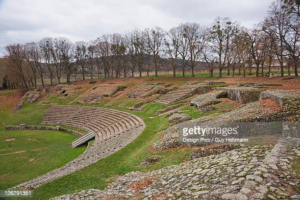 theatre of autun, largest known in the roman world