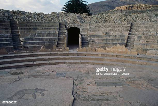 Theatre of Bulla Regia Tunisia Roman civilisation 2nd century AD