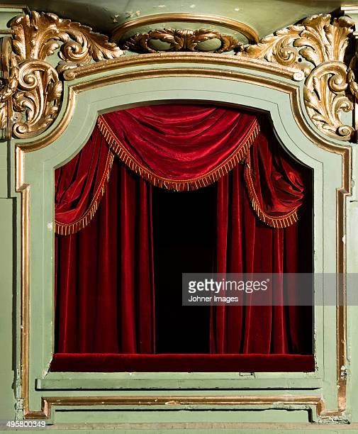 Theatre stage, Stockholm, Sweden