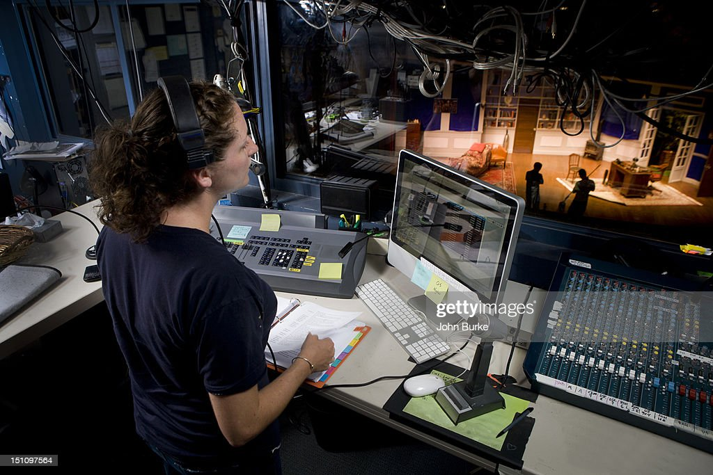 Theatrical Stage manager : Stock Photo