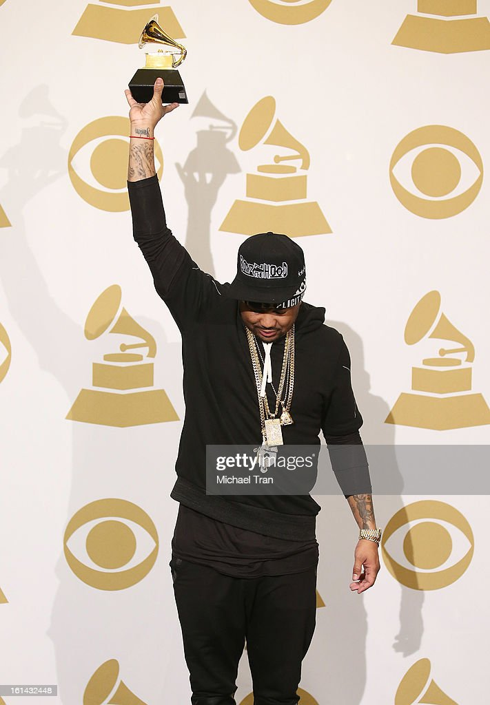 The-Dream attends The 55th Annual GRAMMY Awards - press room held at Staples Center on February 10, 2013 in Los Angeles, California.