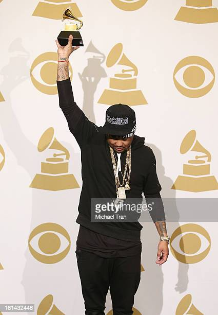 TheDream attends The 55th Annual GRAMMY Awards press room held at Staples Center on February 10 2013 in Los Angeles California