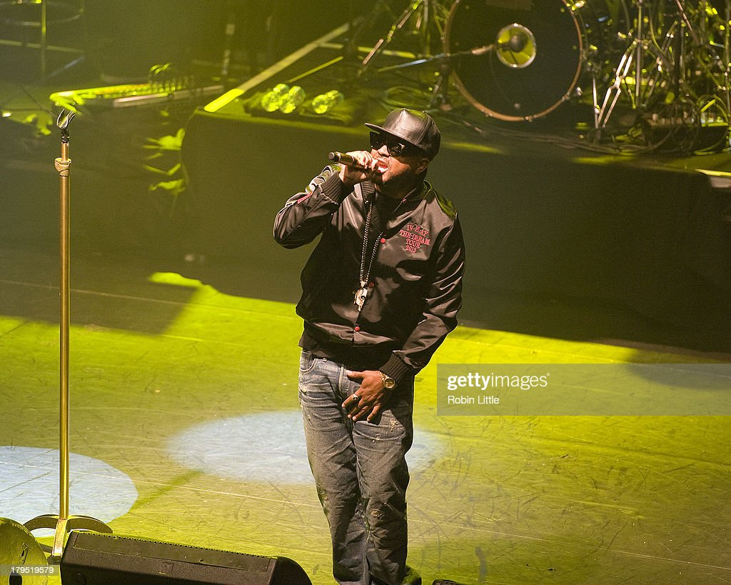 The-Dream performs on stage at KOKO on September 4, 2013 in London, England.