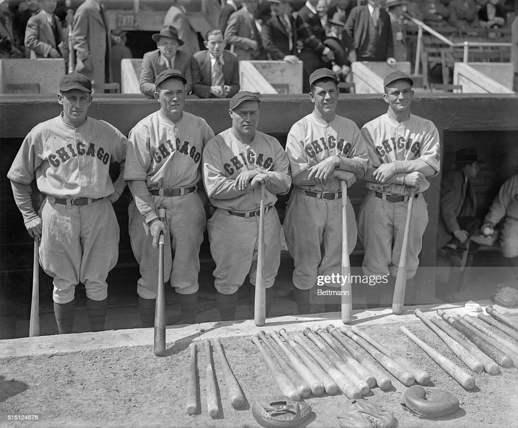 Their bats are the reason for Chicago's favorable position in the National League and incidentally are proving to be the downfall for the New York...